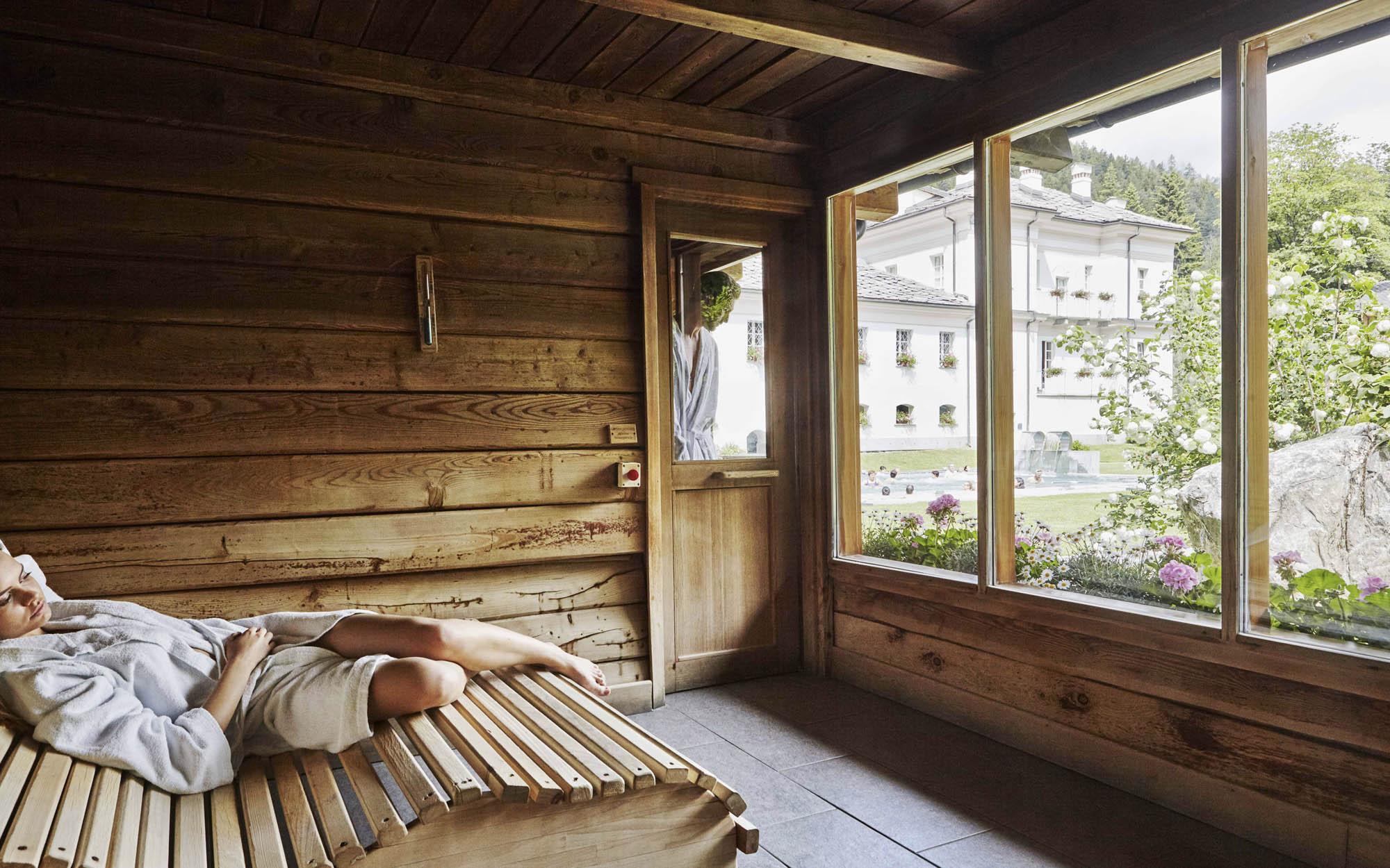 Pre-Saint-Didier-sauna