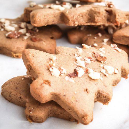 Petits sablés de Noël épices & gingembre sans gluten et sans produits laitiers